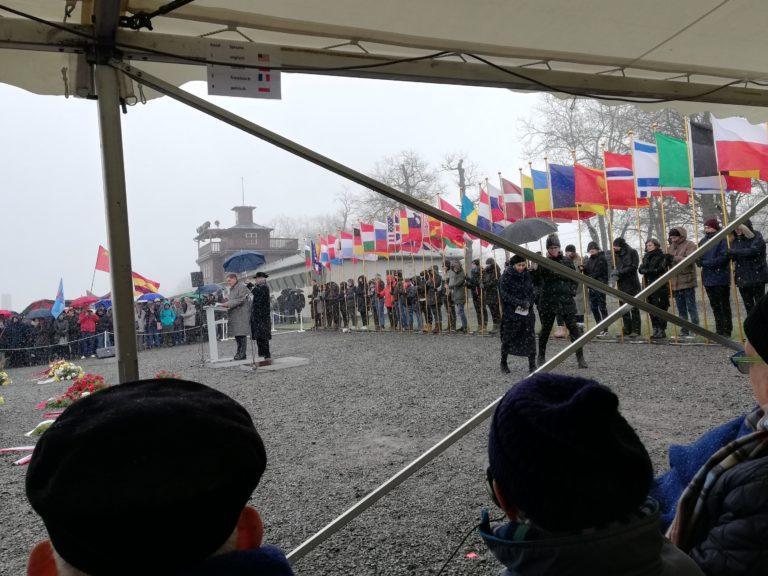 Rede von Romani Rose am 14.4.2019 in der Gedenkstätte Buchenwald