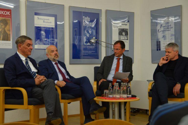 """Politisches Gespräch zu """"Heimat und Identität"""" mit StS. Dr. Markus Kerber"""