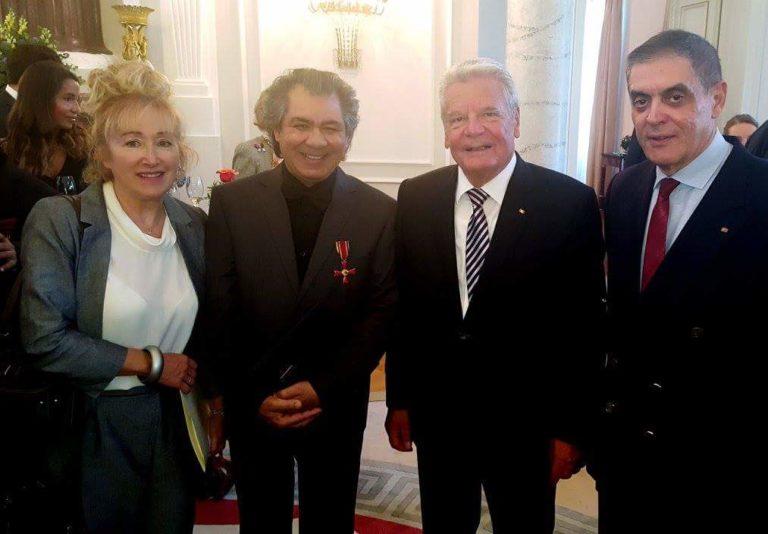 Dirigent Riccardo M. Sahiti mit dem Verdienstorden der Bundesrepublik Deutschland ausgezeichnet