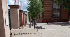 Trier eröffnet Denkmal zur Erinnerung an NS-Holocaust an Trierer Sinti und Roma