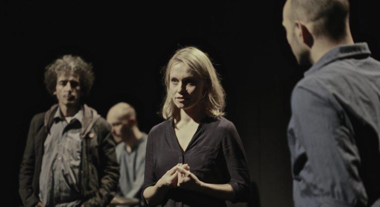 """Verlegung des Spielorts der """"Mittelmeer Monologe"""" in den Orchestersaal des Theaters Heidelberg"""