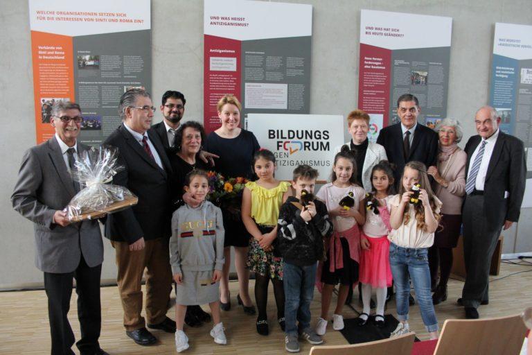 Bildungsforum gegen Antiziganismus am 5. April in Berlin eröffnet