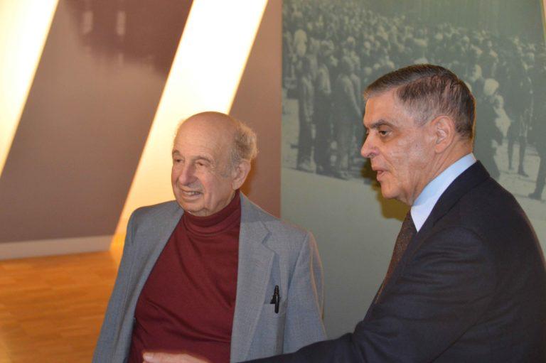 Gesprächsrunde mit dem Zeitzeugen und Literaturwissenschaftler Guy Stern