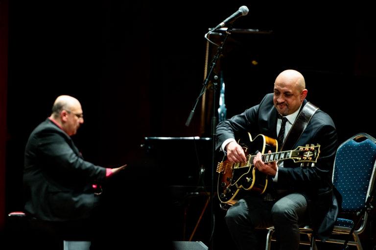 """Impressionen: Konzert """"From Django Reinhardt to Oscar Peterson"""" am 22. Mai im Augustinum Heidelberg"""