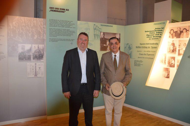 Besuch des ungarischen Botschafters Dr. Péter Györkös