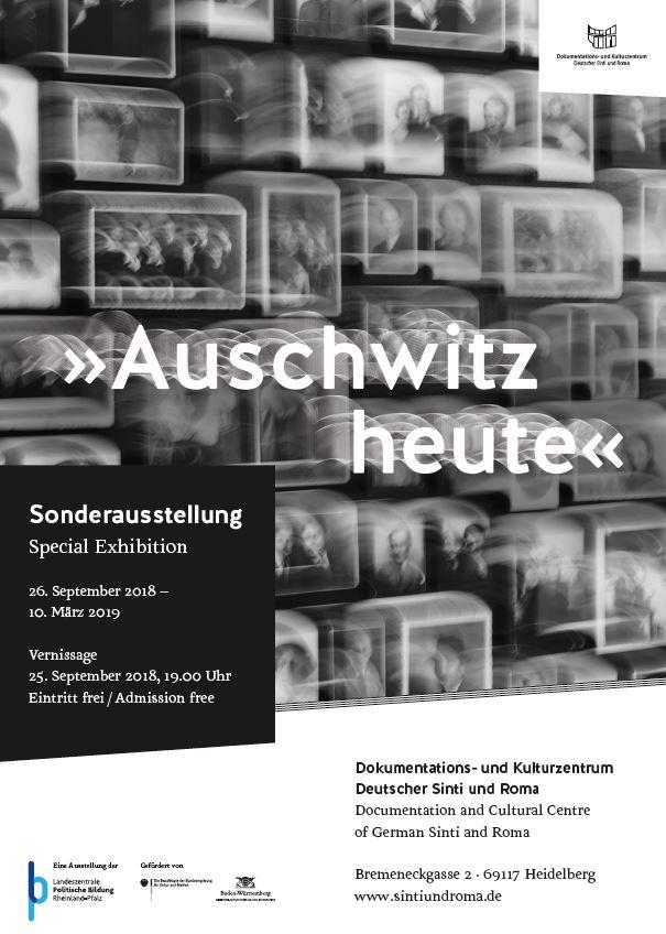 """Sonderausstellung """"Auschwitz heute"""" bis 10. März 2019 in Heidelberg"""
