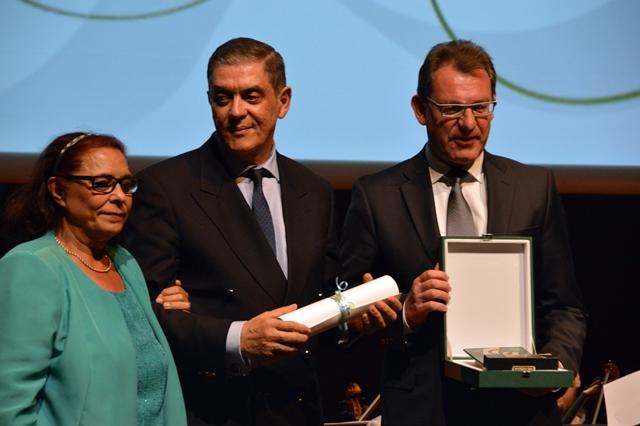 Romani Rose mit Preis für sein Lebenswerk ausgezeichnet