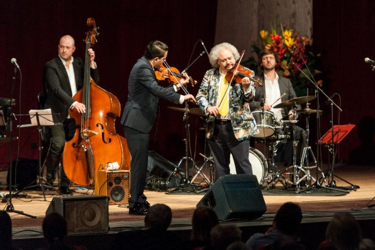 """Eindrücke vom Konzert """"Gypsy-Gipfeltreffen"""""""