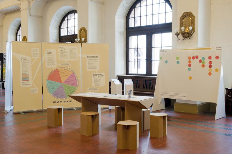 """Am 8. Februar/17 Uhr: Expertenführung zur Ausstellung """"Unterschiede, die einen Unterschied machen"""""""