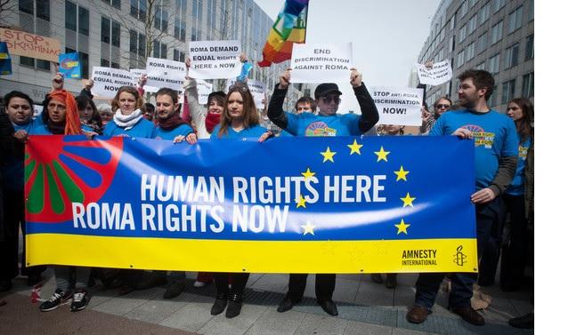 Verleihung des Europäischen Bürgerrechtspreises der Sinti und Roma im Europaparlament in Straßburg