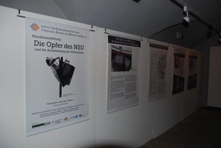 """Ausstellung """"Die Opfer des NSU und die Aufarbeitung der Verbrechen"""" in Minden"""