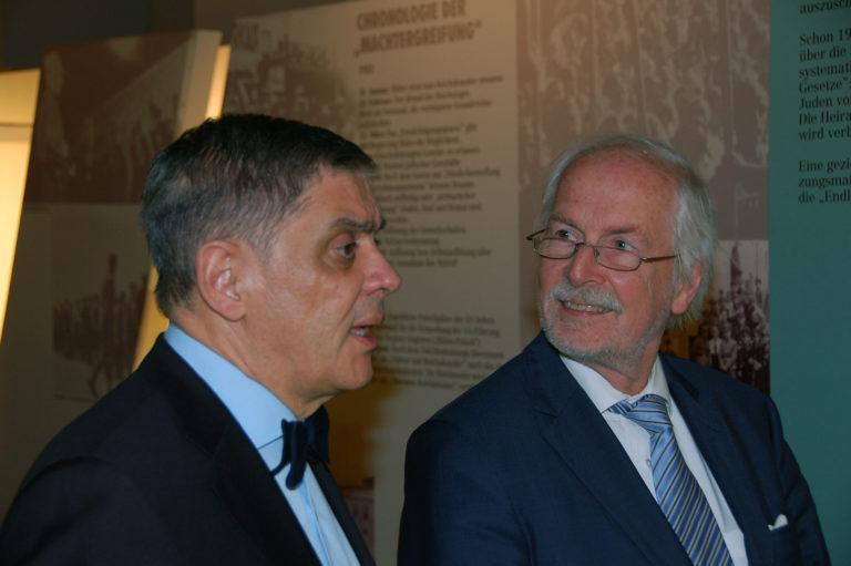 Generalbundesanwalt Harald Range zu Besuch im Dokumentationszentrum