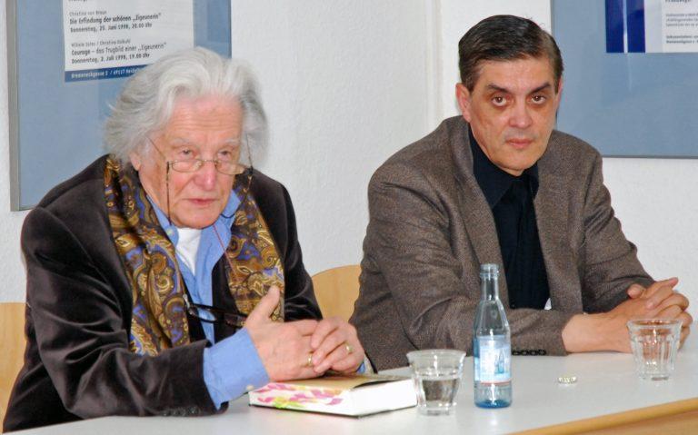 Ralph Giordano im Dokumentationszentrum