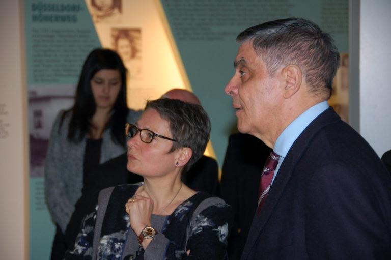 Präsidentin des Bundesgerichtshofs Limpert besucht Dokumentationszentrum