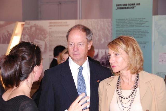 US-Botschafter zu Gast im Dokumentations- und Kulturzentrum