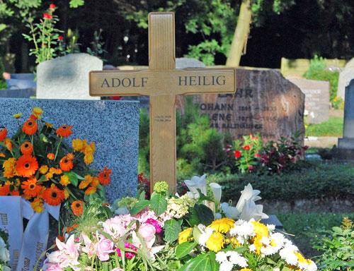 Vorstandsmitglied und Holocaust-Überlebender Adolf Heilig verstorben
