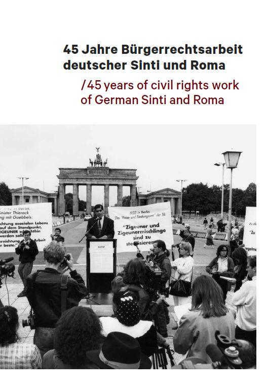 """Katalog zur Ausstellung """"45 Jahre Bürgerrechtsarbeit deutscher Sinti und Roma"""" erschienen"""