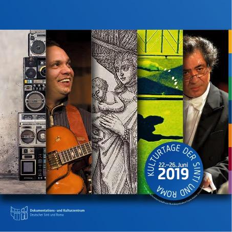 Programmheft der Kulturtage der Sinti und Roma 2019