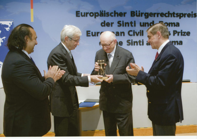 Verleihung des Bürgerrechtspreises an Prof. Bartoszewski