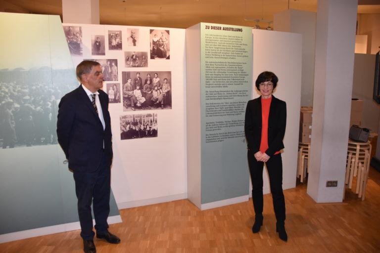 Austausch mit Bürgermeisterin Stefanie Jansen
