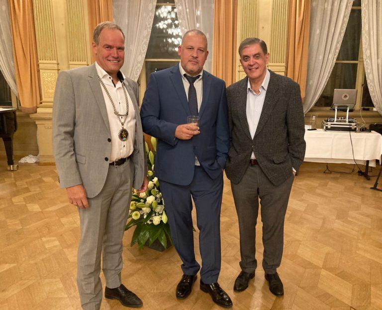 Richard-Benz-Medaille der Stadt Heidelberg an Torch verliehen